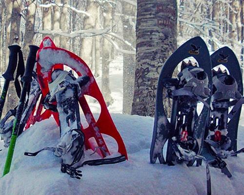 Trekking d'inverno con le ciaspole sulla Majella