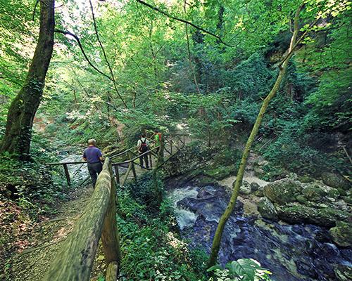 sentiero delle scalelle- majella, abruzzo